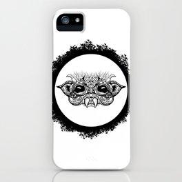 Half Creature iPhone Case
