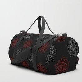 Anti Possession Pattern Dual Glow Duffle Bag