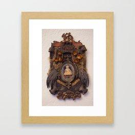 Gloria Mundi Memorial Framed Art Print