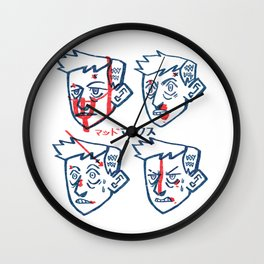 Fool Wall Clock