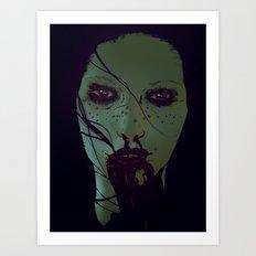 Freckled & Feral. Art Print