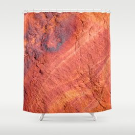 Natural Sandstone Art - Valley of Fire Shower Curtain
