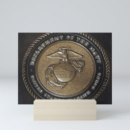 Marine Corps Symbol Style 2 Mini Art Print