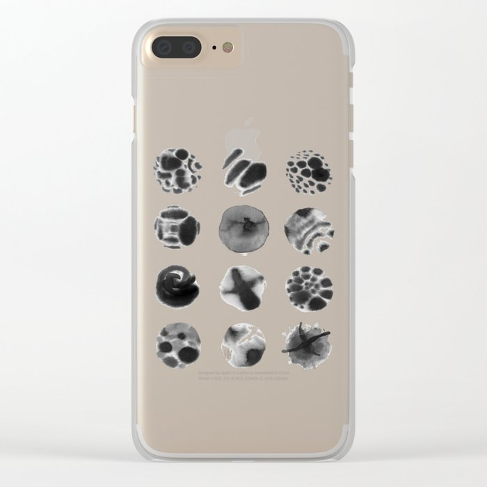 Year of Moons Clear iPhone Case