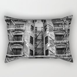 New York fire escapes Rectangular Pillow