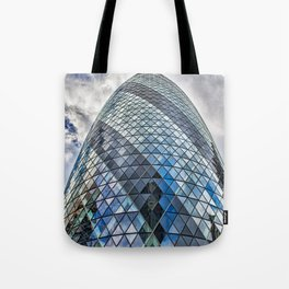 London The Gherkin  30 St Mary Axe Tote Bag