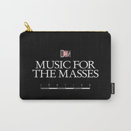 DM : Music For The Masses Title Carry-All Pouch