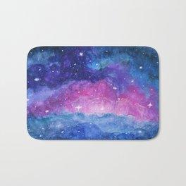 Angelic Domain, Space Nebula Stars Bath Mat