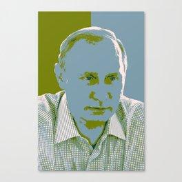 Russian President Vladimir Putin 3 Canvas Print
