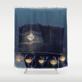 A Faithful Treasure Shower Curtain