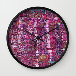 Magic Carpet Wall Clock