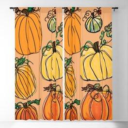 Pumpkins Blackout Curtain