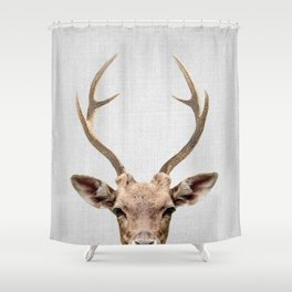Deer - Colorful Shower Curtain