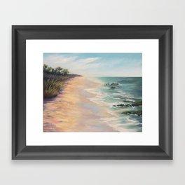 At high tide Framed Art Print