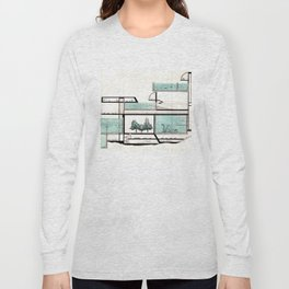 octopus architecture Long Sleeve T-shirt