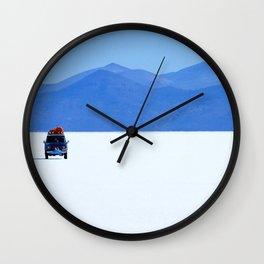 Salar de Uyuni 1 Wall Clock