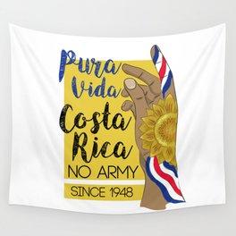 Costa Rica PURA VIDA Wall Tapestry