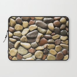 Wall pebble pattern Laptop Sleeve
