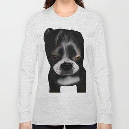 It Wasn't Me - Boston Terrier Puppy Long Sleeve T-shirt