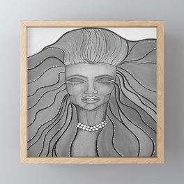Feel The Wind Framed Mini Art Print