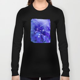 Aquarius Constellation Long Sleeve T-shirt