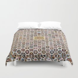 Floral Fabric Vintage Gift Pattern #20 Duvet Cover