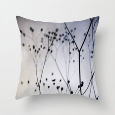 Abstract Flowers 4 Throw Pillow