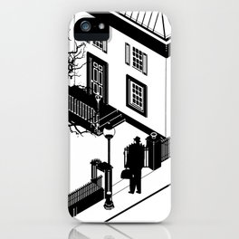 The Exorcist (poster adaption) iPhone Case