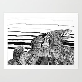 Eagles Art Print
