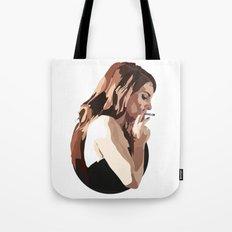 Lana with Cigarette Tote Bag