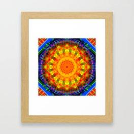 Kaleidoskop W Framed Art Print