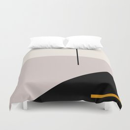 abstract minimal 28 Duvet Cover