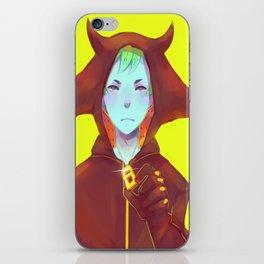 Demon Boy iPhone Skin