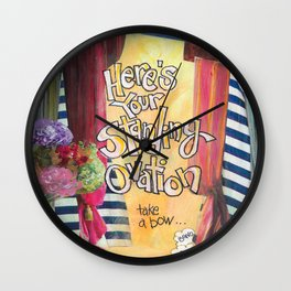 Ovation Wall Clock