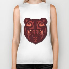 """""""Mathuin in Vector"""" by Paper Laine Biker Tank"""