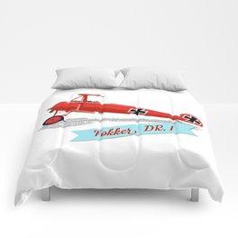 Red Baron's Fokker Dr.I Comforters