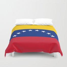 Venezuela Flag Duvet Cover