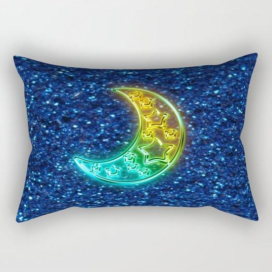 Moon Night Rectangular Pillow