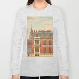 Brick constructions; ordinary brick from a decorative point of view - J. Lacroux and C. Détain - 187 Long Sleeve T-shirt