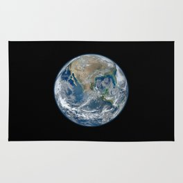 Planet Earth from Space Rug