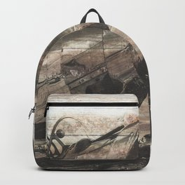Old airplane 1 Backpack