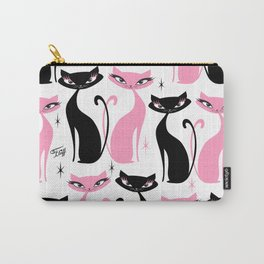 Mod Love Cats Carry-All Pouch