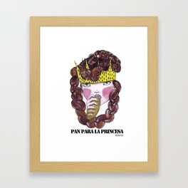 PAN PARA LA PRINCESA Framed Art Print