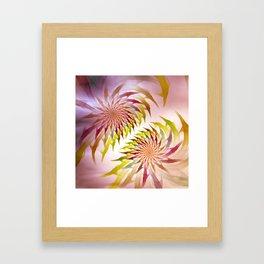 flametime -2- Framed Art Print