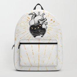 Desert Heart Inktober :: More Magick Backpack