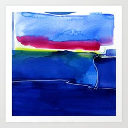 Meditations 33 by Kathy Morton Stanion Art Print