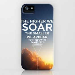 Soar. iPhone Case