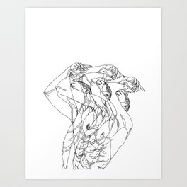 Out of Body Art Print