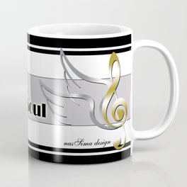 Music heals my soul Coffee Mug