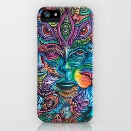 Reyes De La Jungla (Kings of the Jungle) By Tyler Aalbu iPhone Case